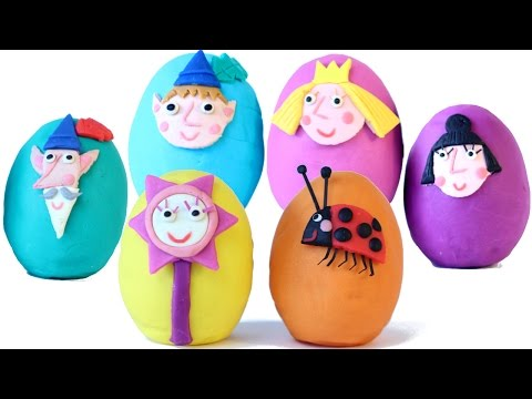 Thumbnail: BEN AND HOLLYs Little Kingdom Surprise Eggs Play Doh Eggs Opening
