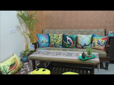 Living Room Tour/Indian Living Room Makeover/Home Decoration Ideas/Indian Vlogger Manisha