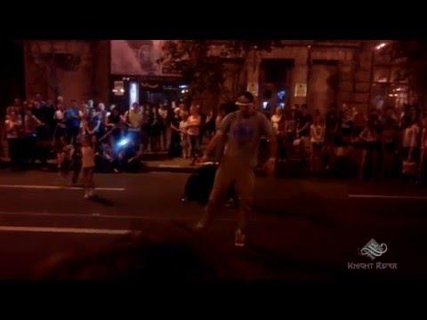 Уличные танцы, Киев, Вечерний Крещатик часть 5 - Street Dance, Kiev, Khreshchatyk Evening part 5