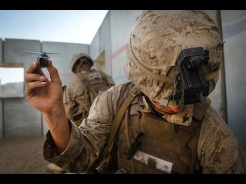 Marines Testing Out Worlds Smallest Drone Military Forces