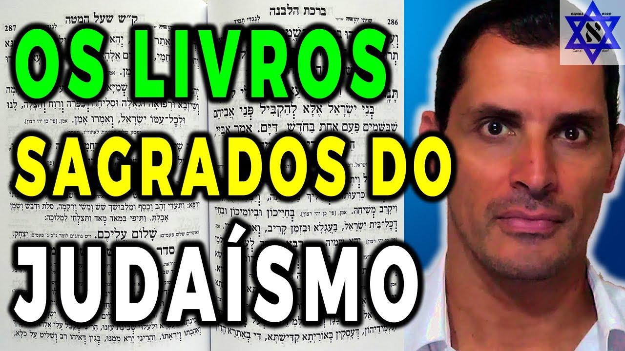 Os Livros Sagrados do Judaísmo, Saiba Quais São -  Canal Alef