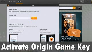 How to activate an Origin Game Key