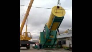 Мобильный бетонный завод(Мобильный бетонный завод производства ЗАО