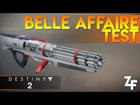 [DESTINY 2] TEST DE LA BELLE AFFAIRE - BETA