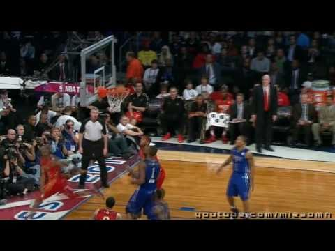 The NBA 2011 All Star Game   East vs West , HD Highlights