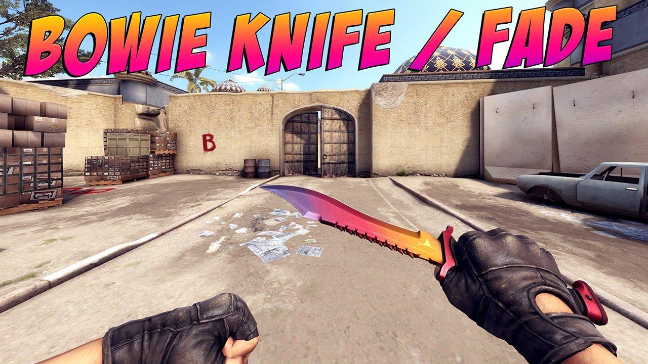 Csgo bowie knife