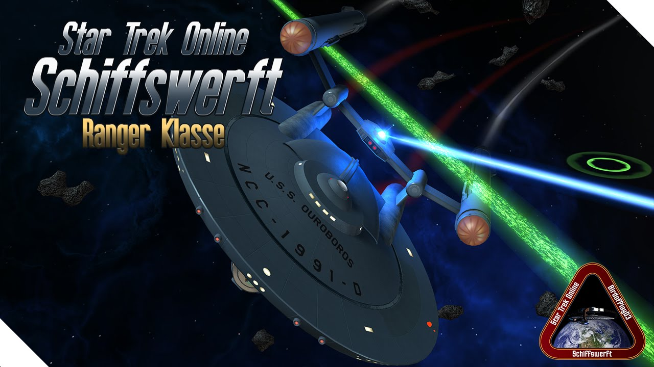 star trek online schiffswerft ranger klasse tos tier 6 schiff youtube. Black Bedroom Furniture Sets. Home Design Ideas