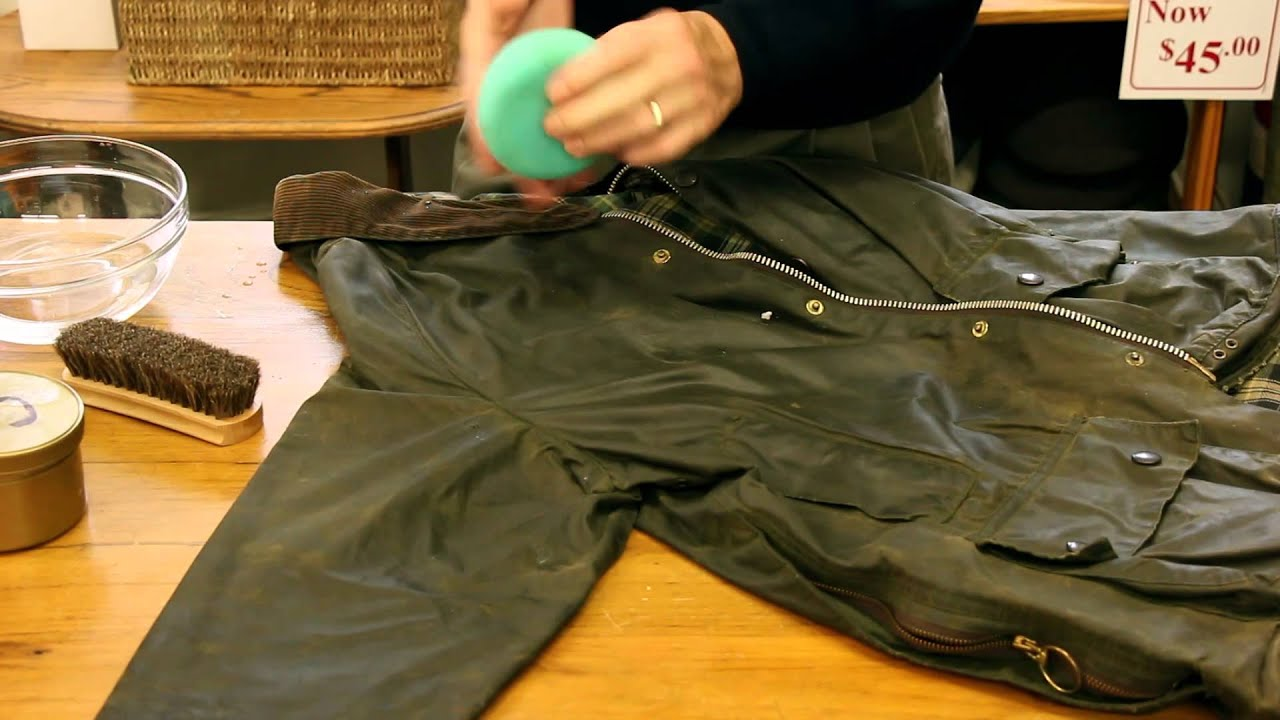 1fce3538 How to Reproof a Wax Jacket with Rick from the London Trading Post ...