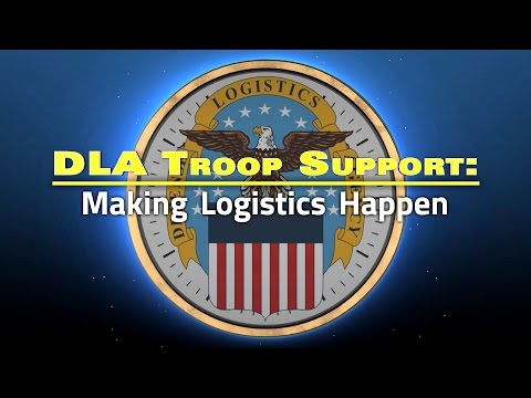 DLA Troop Support Making Logistics Happen (Open Captioned)