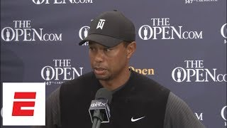 Tiger Woods after The Open second round: 'I'm certainly right there in it' | ESPN thumbnail
