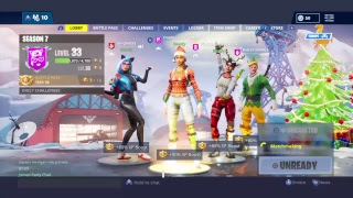 Fortnite Battle Royale grinding tiers and levels unvaulted NO AIM ASSIST