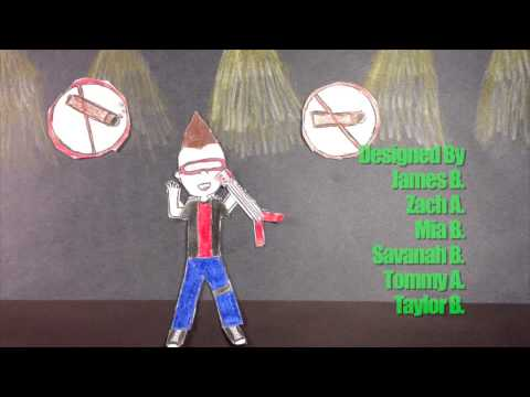 Sowers Middle School Animated PSAs On Anti-Smoking & Tobacco Use Prevention