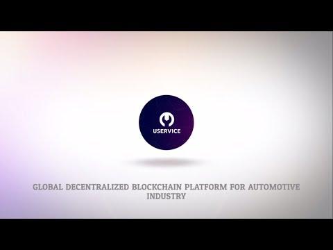 Uservice :  A single global decentralized blockchain platform