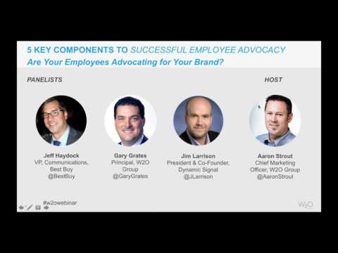 5 Components to Successful Employee Advocacy   Webinar