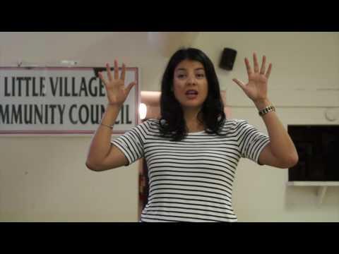 LVCC-Augie Sallas welcomes ANNA VALENCIA, Chicago City Clerk