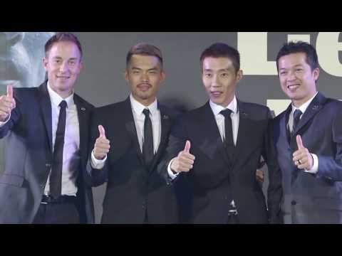 Yonex Legends' Vision [OFFICIAL Badminton Anthem] - James Young 楊子振
