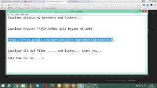 Download MAULANA TARIQ JAMEEL SAAB Bayans of 2005