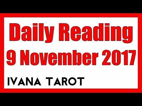 SURRENDER Daily Reading 9 November 2017 - Ivana Tarot - 동영상