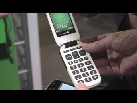 Doro Presenting their PhoneEasy 615 at MWC 2012