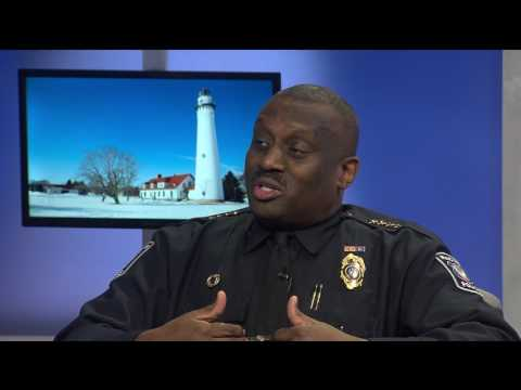 Racine Police Chief Art Howell - Jacob Kittilstad (4/8/17, Racine & Me)