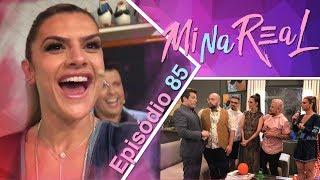 MiNa Real   Bastidores Teleton - Episódio 85