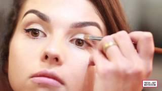 Дневной макияж за 10 минут в студии красоты FRESH-ART