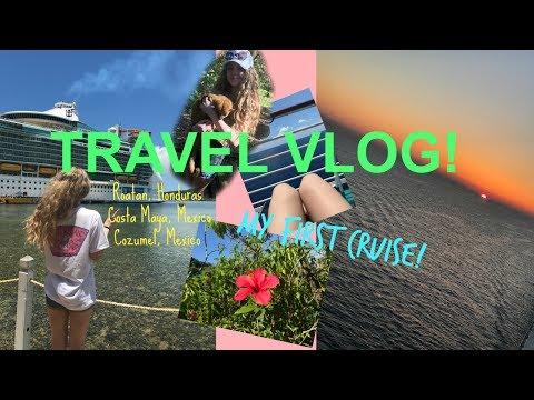 I WENT ON A CRUISE!! | Visiting Mexico & Honduras! | Travel Vlog