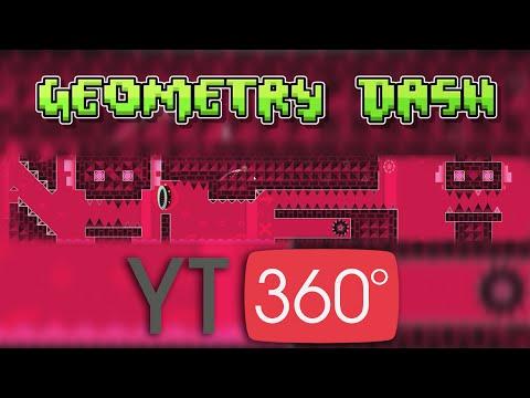 Pasándome CLUBSTEP en 360º 100% Completo | Jugando Geometry dash en 360º