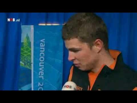 Reactie Diskwalificatie Sven Kramer Vancouver 2010