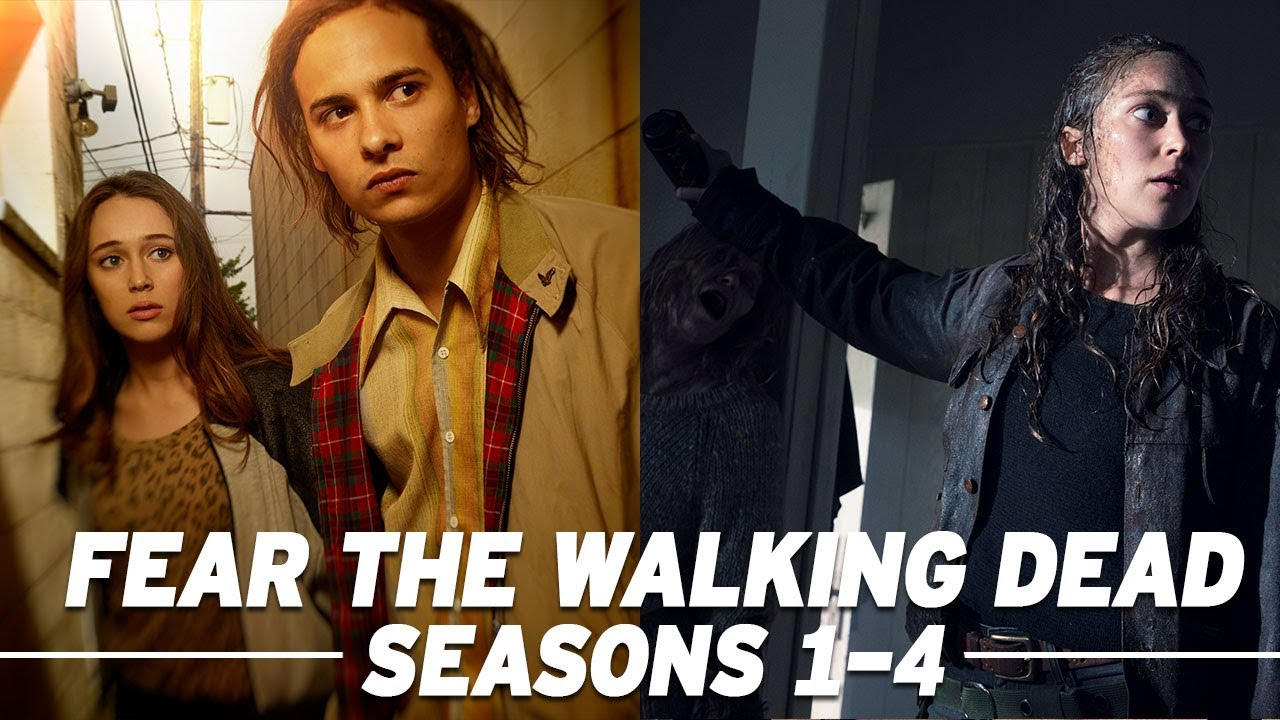 Here's The Only 'Fear the Walking Dead' Season 1-4 Recap You
