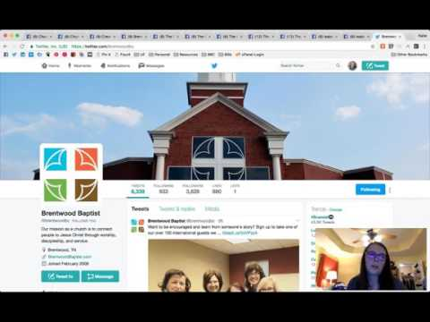 Church Communications: Facebook Pages