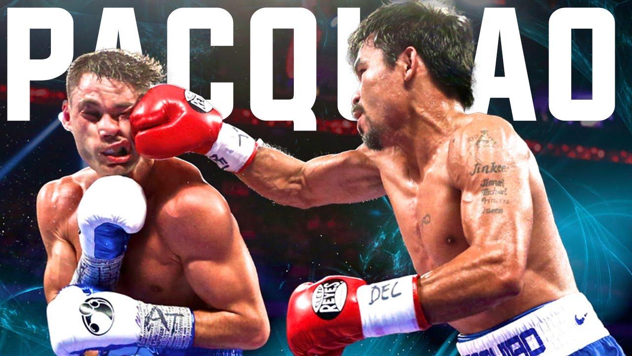 Manny Pacquiao vs Chris Algieri Knockdown Highlights - YouTube
