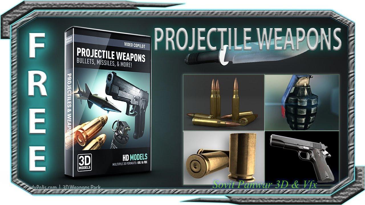 video copilot element 3d projectile weapons