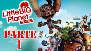 Let's Play: LittleBigPlanet Vita - Parte 1
