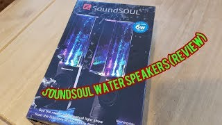 SoundSoul Water speakers (Review)
