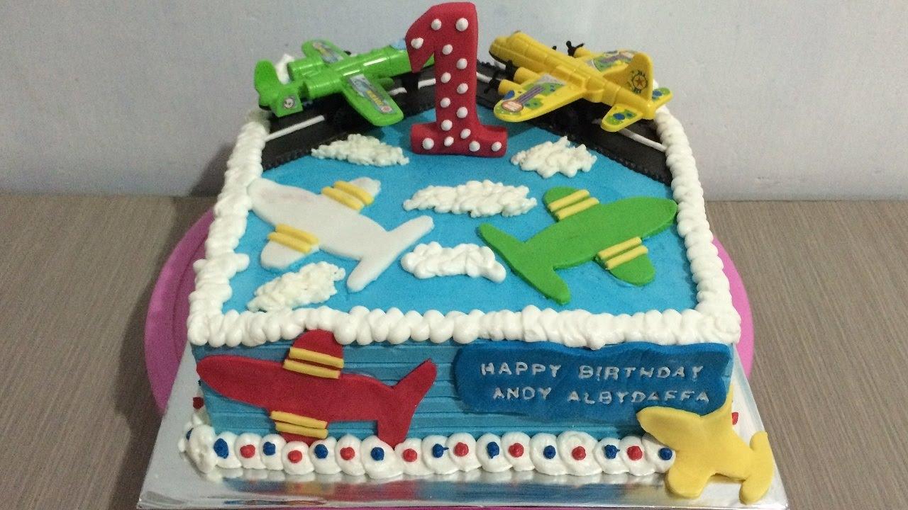 Plane Cake Decorating Theme YouTube