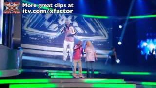 The Auditionees sing Bad Romance - The X Factor Live Final - itv.com/xfactor