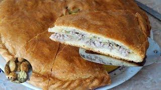 Мясной пирог, не пирог, а сказка!Идеальное тесто на пироги/MEAT PIE
