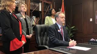 Video: County Executive Sam Page talks coronavirus
