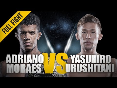 ONE: Full Fight | Adriano Moraes vs. Yasuhiro Urushitani | A Grappling Showcase | March 2014