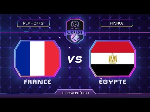 GRANDE FINALE - FRANCE vs ÉGYPTE | Coupe du monde 2021 - feat. Ouahleouff