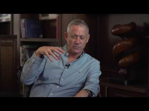 Fmr. IDF Chief of Staff Gen. Benny Gantz; Part 3