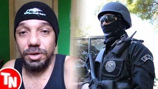 Bluezão denuncia seus haters para a polícia depois de 1 ano de ataques