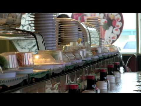 Sushi train tulsa oklahoma japanese restaurant youtube for Asian cuisine tulsa