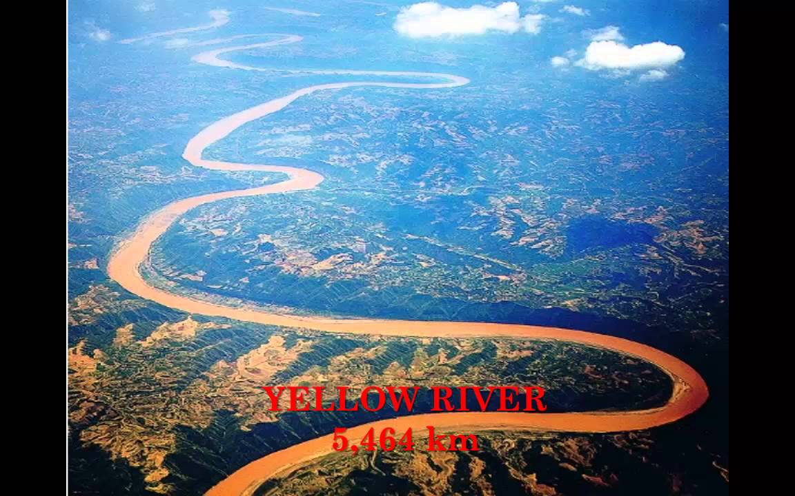 Top Largest Rivers Of The World YouTube - Longest river on earth