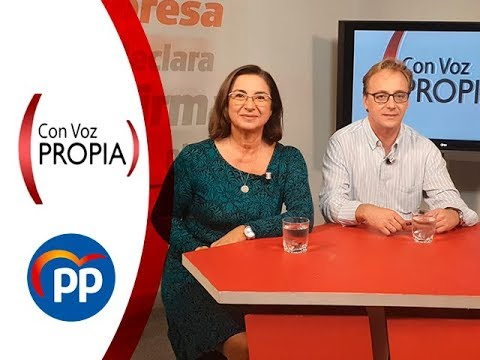 Con Voz Propia - Guillermo Martínez y Nieves Sorroche, candidatos del PP a Congreso y Senado