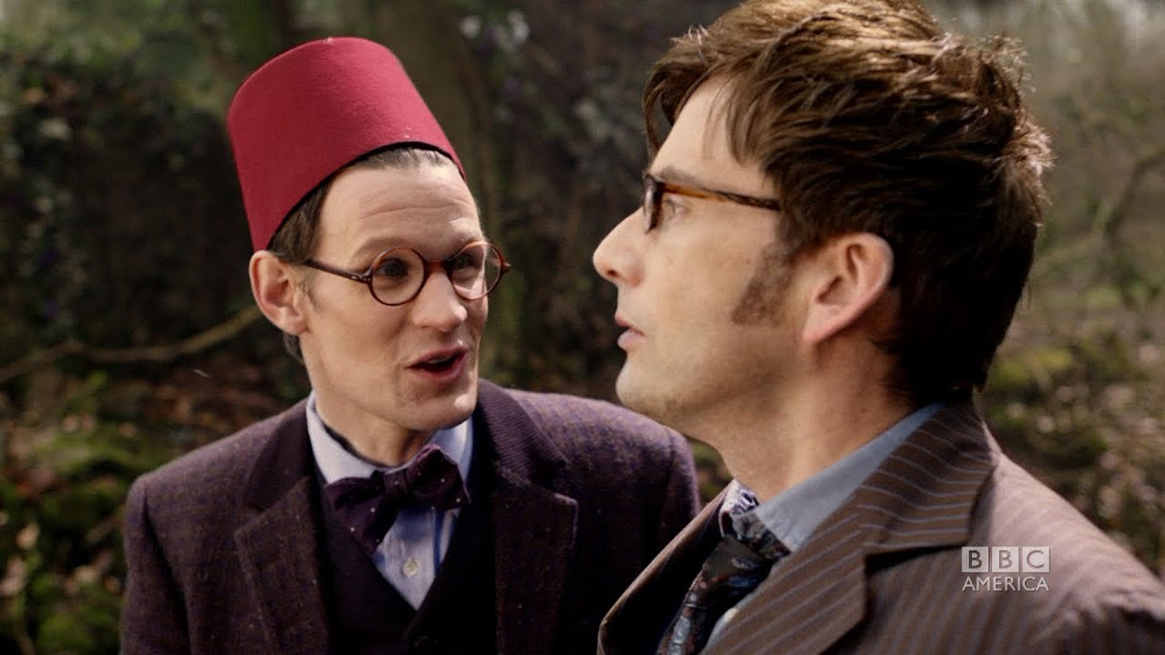 10th and 11th doctor meet episode speakers