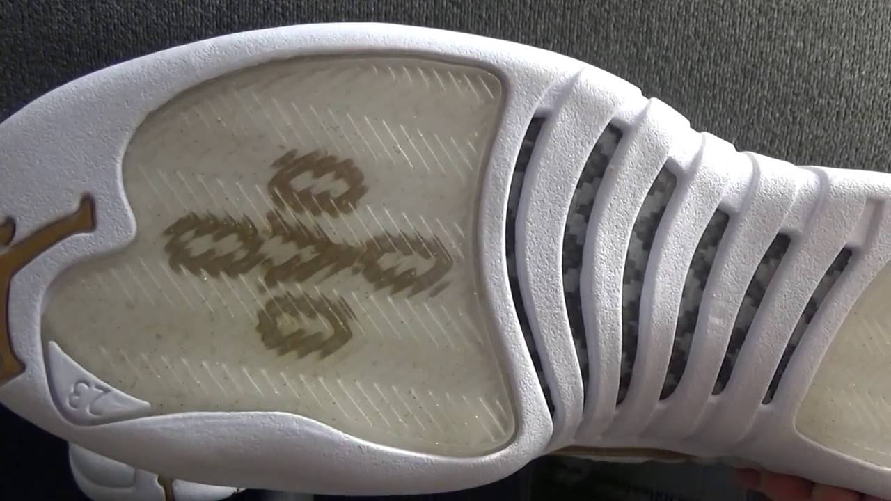 best loved 47148 fab3b Authentic Air Jordan 12 Retro white OVO (final version) HD Review from  www.bestdealkicks.com - YouTube