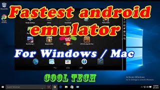 The Best Android Emulator for PC - New Version 2017 - Really Very Fast Emulator - Leapdroid