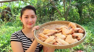 Yummy Chicken Wing Fried Recipe - Chicken Wing Cooking - Cooking With Sros